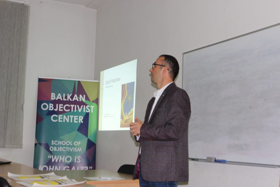 Goran Ilik predava na John Galt Bitola