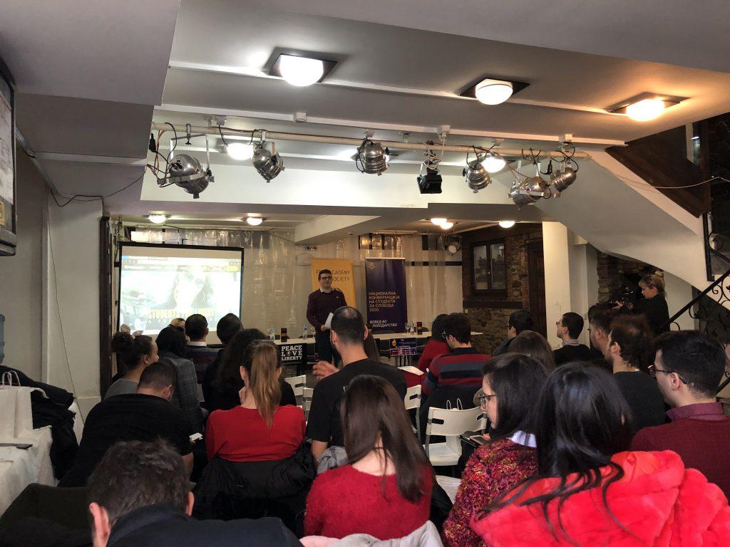 Simon Sarevski at the National Conference in Bitola