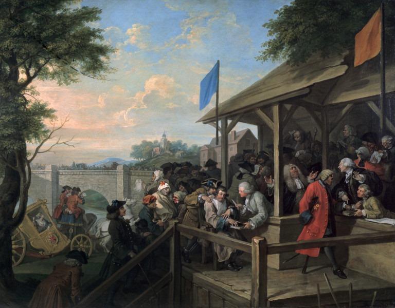 Вилијам Хогарт - The Polling, 1754