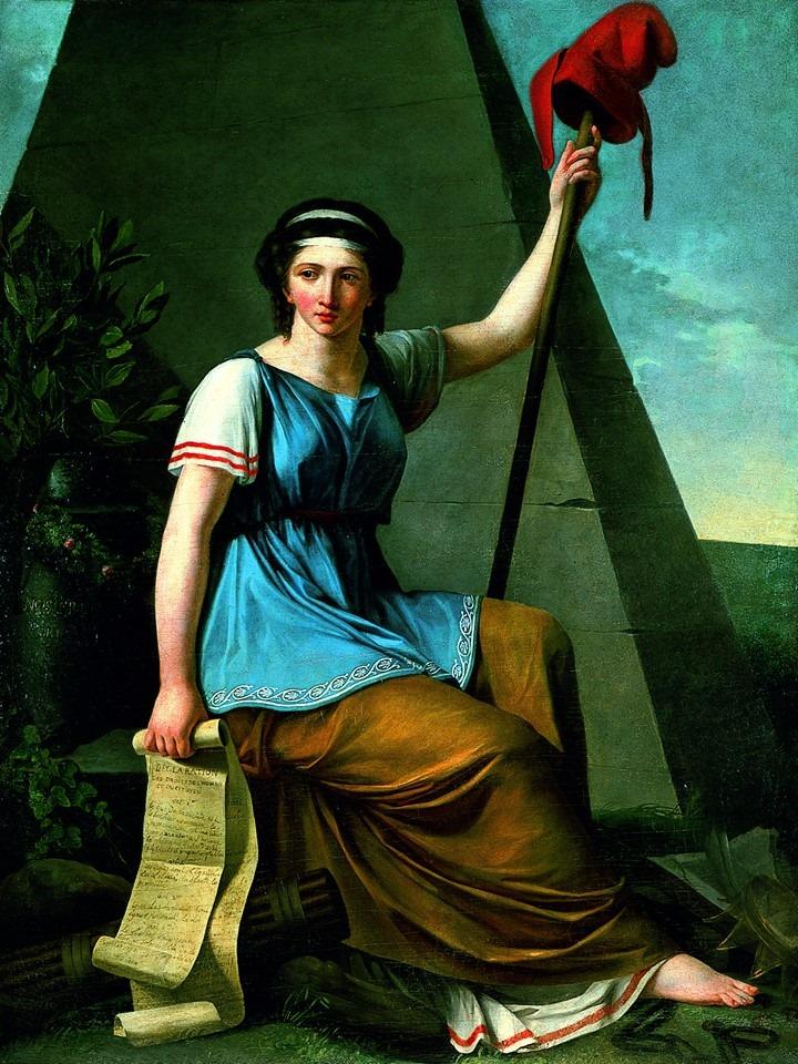 Нанин Вален - La liberté,1794.