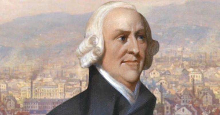 Адам Смит:  личниот интерес,  невидливата рака на пазарот и поделба на трудот